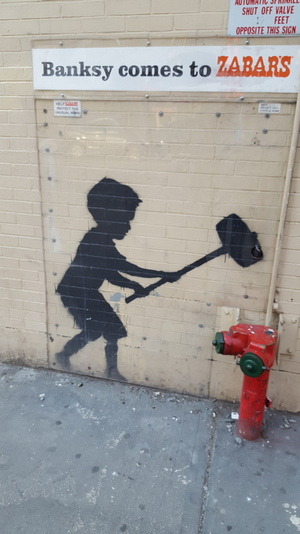 Banksy in Manhattan